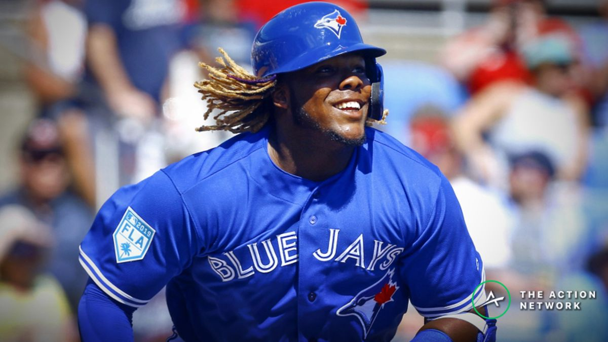 2019 MLB Rookie of the Year Odds: Vladimir Guerrero Jr. Odds-on American League Favorite article feature image