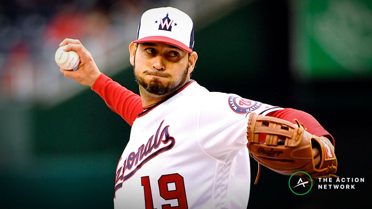 MLB Daily Betting Model, 5/5: Can You Trust Anibal Sanchez vs. Phillies? article feature image