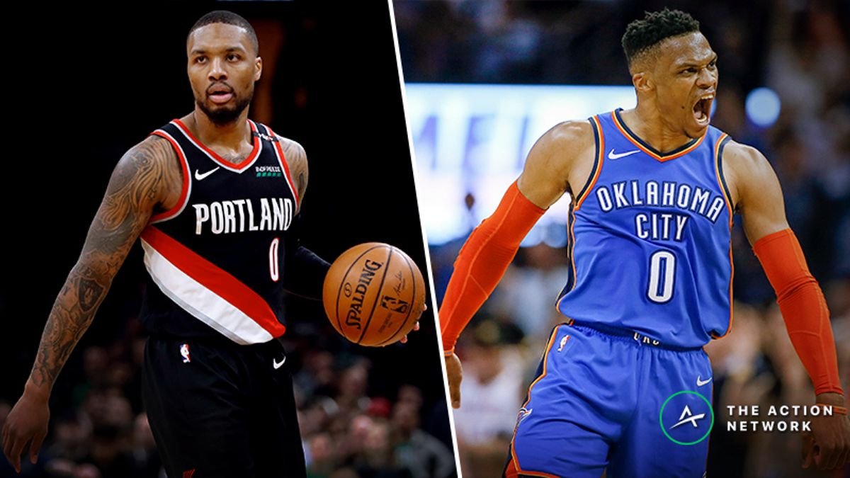 Updated Blazers vs. Thunder Series Odds, Schedule article feature image