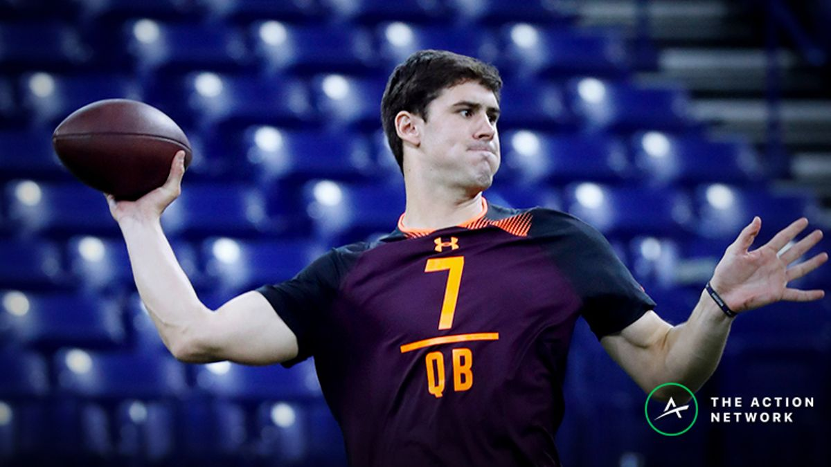 Daniel Jones Fantasy Football Analysis with Giants article feature image