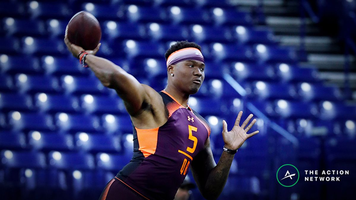 Dwayne Haskins Fantasy Football Analysis with Redskins article feature image