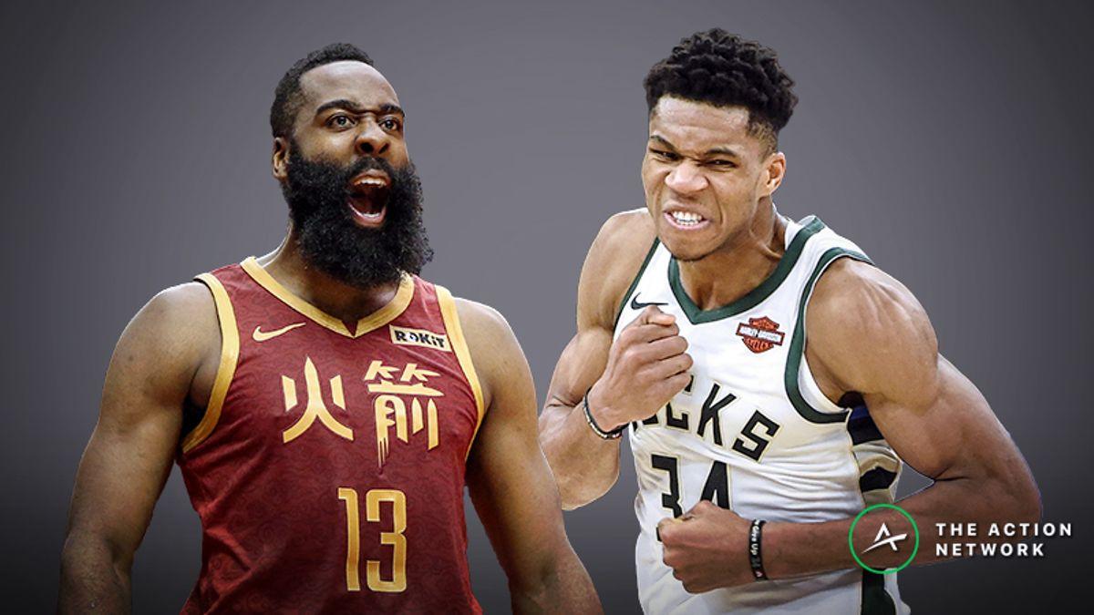 Moore's NBA MVP Vote: The Deciding Factor in James Harden vs. Giannis Antetokounmpo article feature image