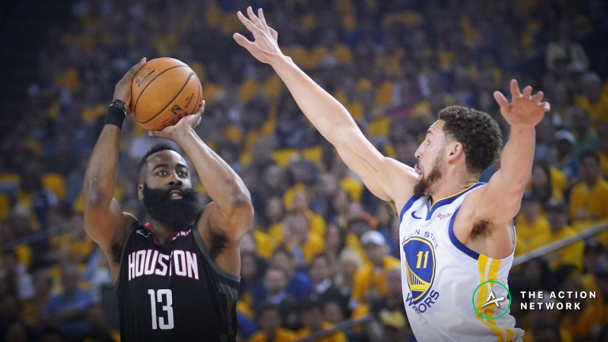 Rockets vs. Warriors Game 2 Betting Preview: Will Unders Keep Hitting? article feature image