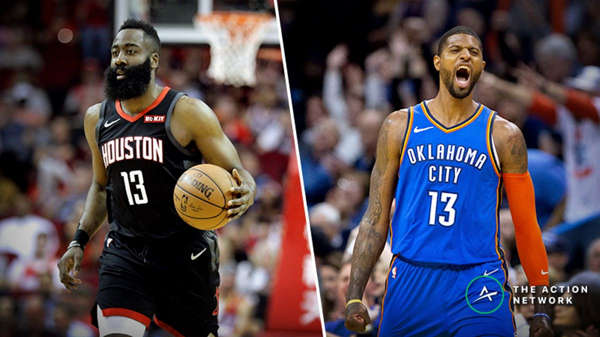 Rockets-Thunder Betting Preview: Will Houston Cover as a Road Favorite? article feature image