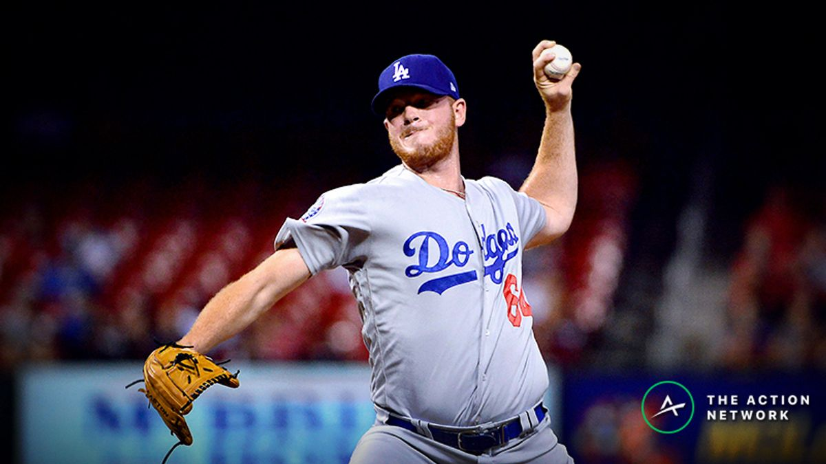 MLB Daily Betting Model, 4/13: Can Dodgers Beat Brewers on Bullpen Day? article feature image