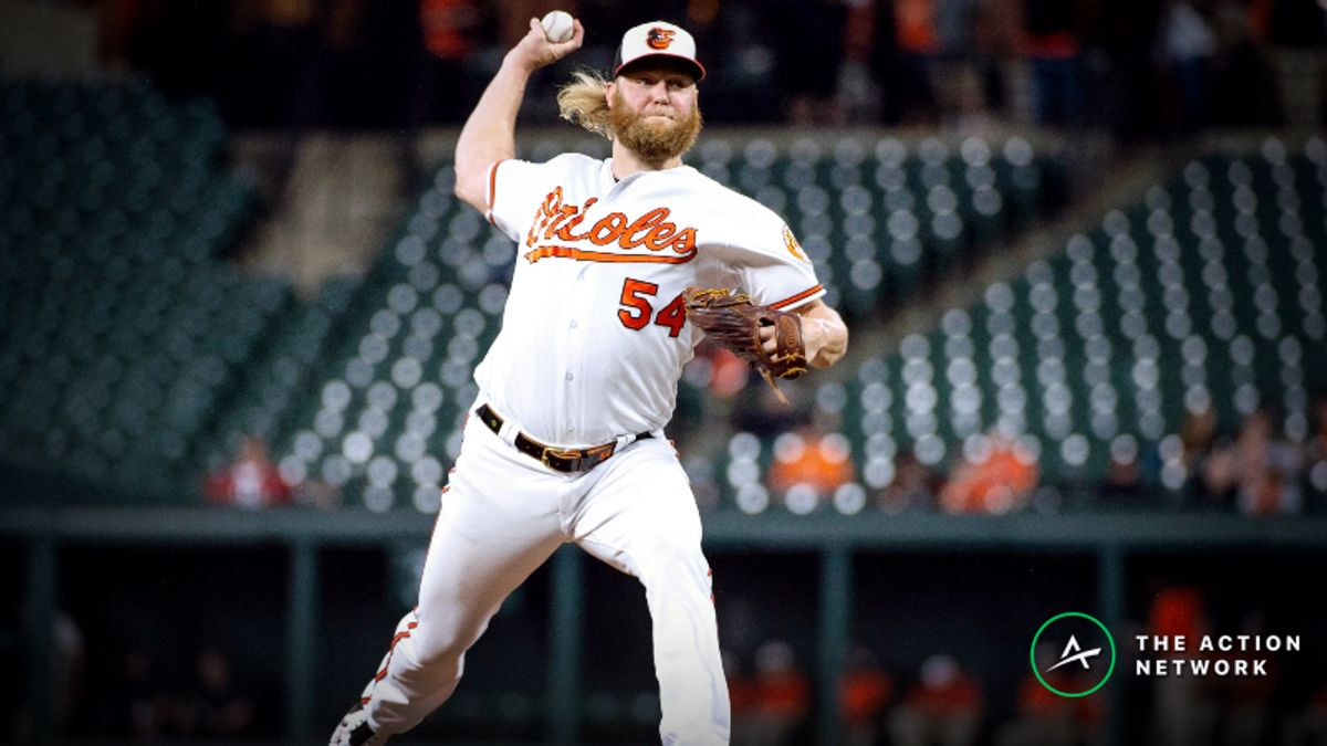 MLB Player Props: Can Andrew Cashner Notch More Than 3 Strikeouts Against Red Sox? article feature image