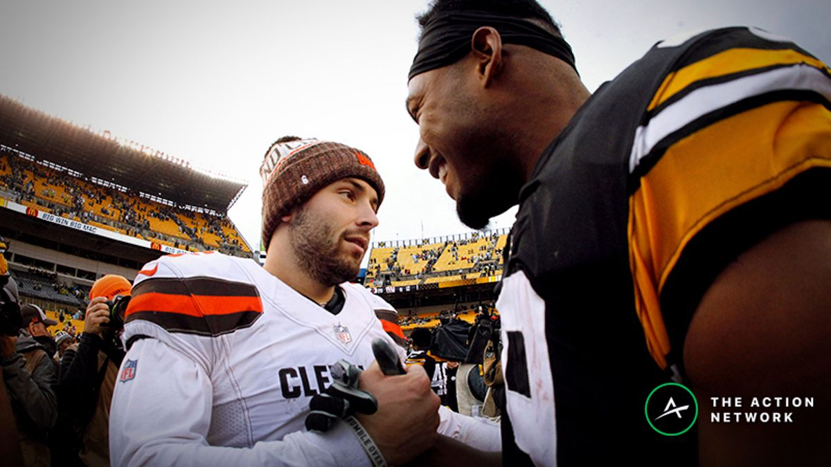 Updated NFL Division Odds: Steelers Inch Closer to Browns as Favorite in AFC North article feature image