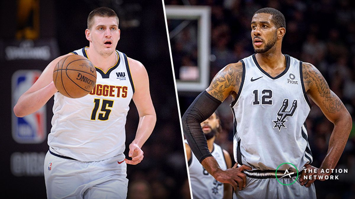 Updated Nuggets vs. Spurs Series Odds, Schedule article feature image