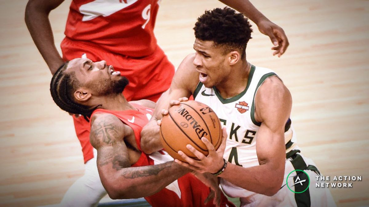 NBA Betting Tip: How to Play the Bucks-Raptors Game 6 Over/Under article feature image