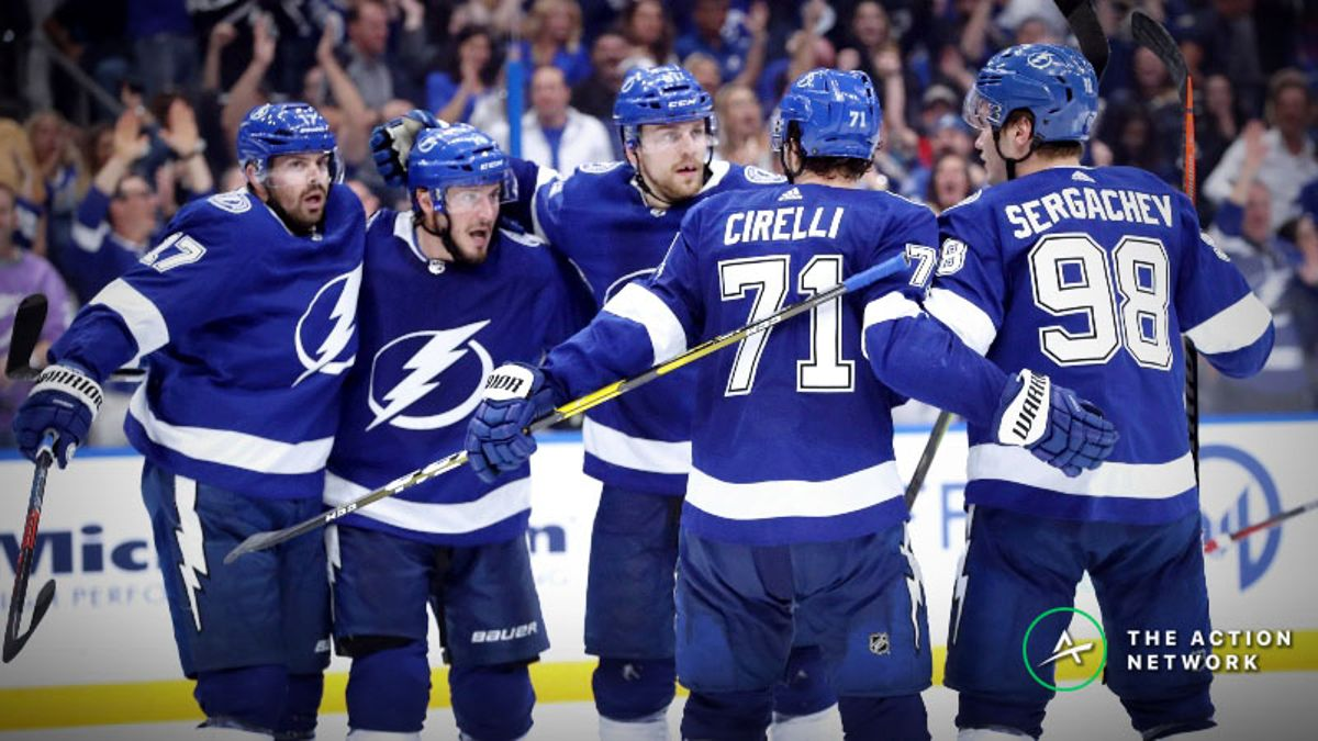 NHL Playoffs Betting Tip: Can the Lightning, Penguins Avoid Being Swept? article feature image
