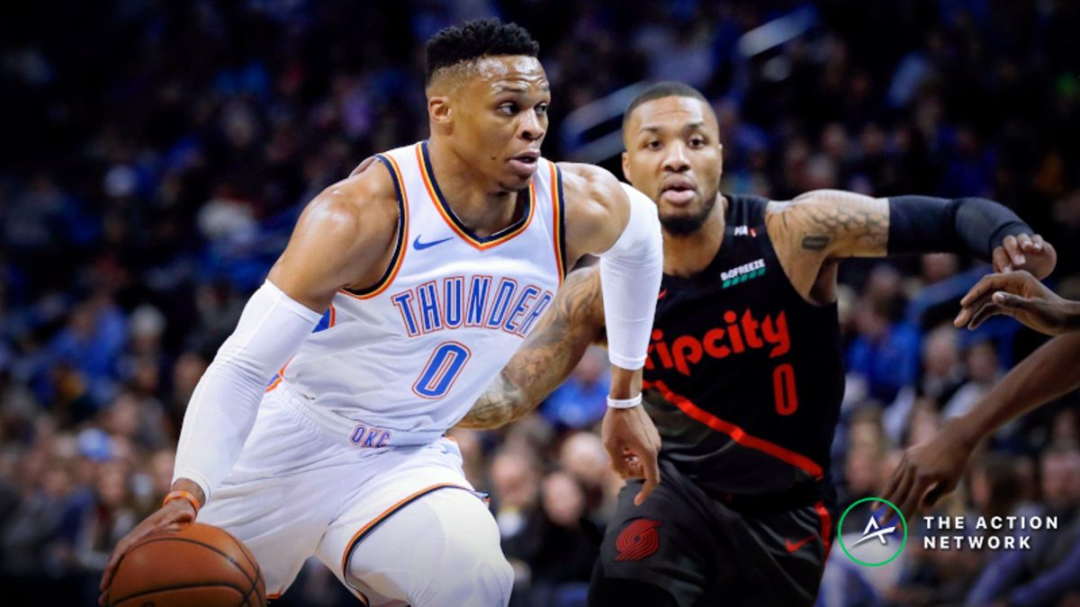 Blazers-Thunder Series Betting Preview: OKC Provides Best Betting Value in Round 1 article feature image