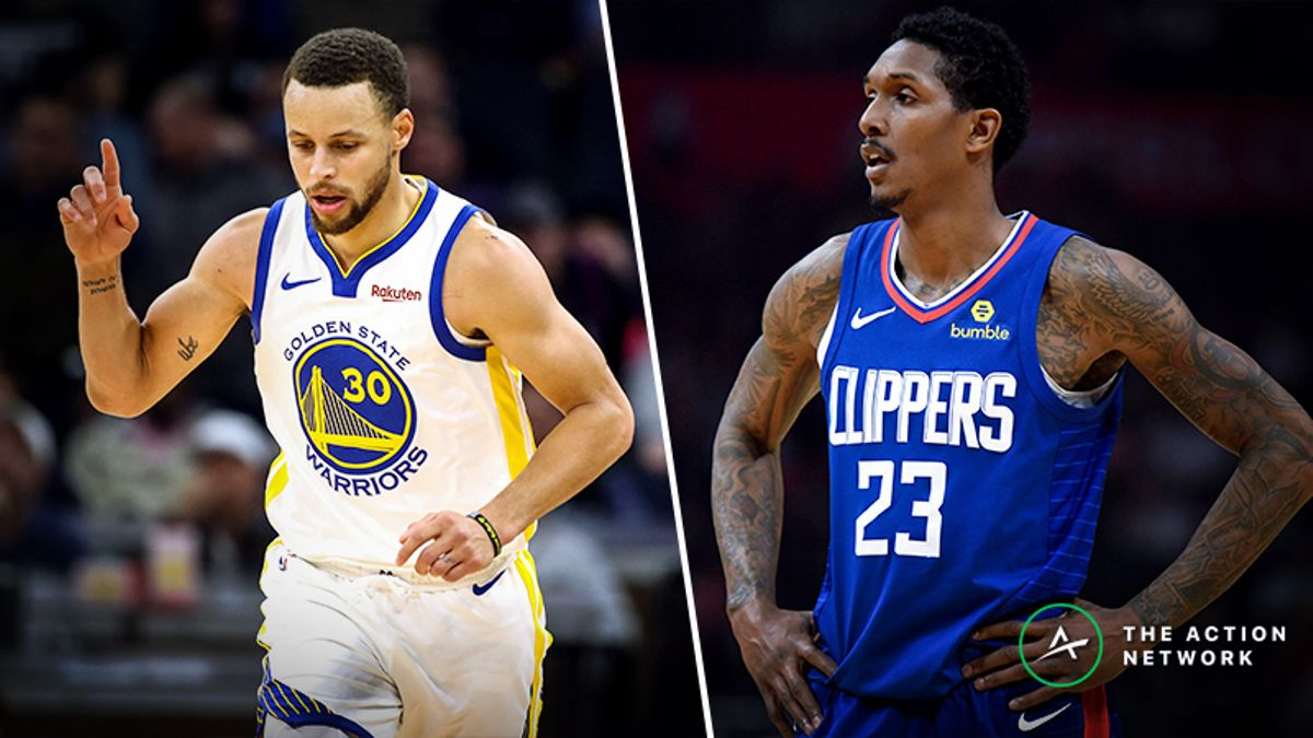Updated Warriors vs. Clippers Series Odds, Schedule article feature image