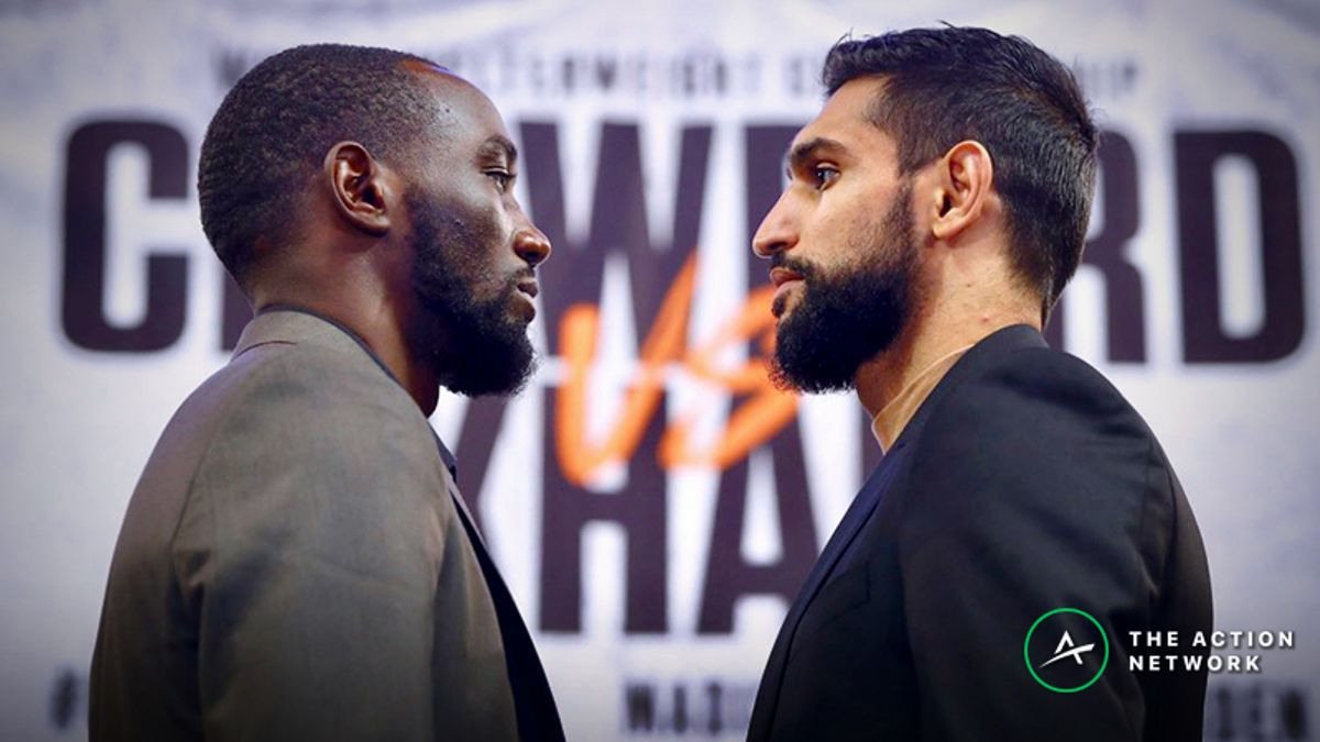 Terence Crawford vs. Amir Khan Betting Odds, Preview: How Long Will This Fight Last? article feature image