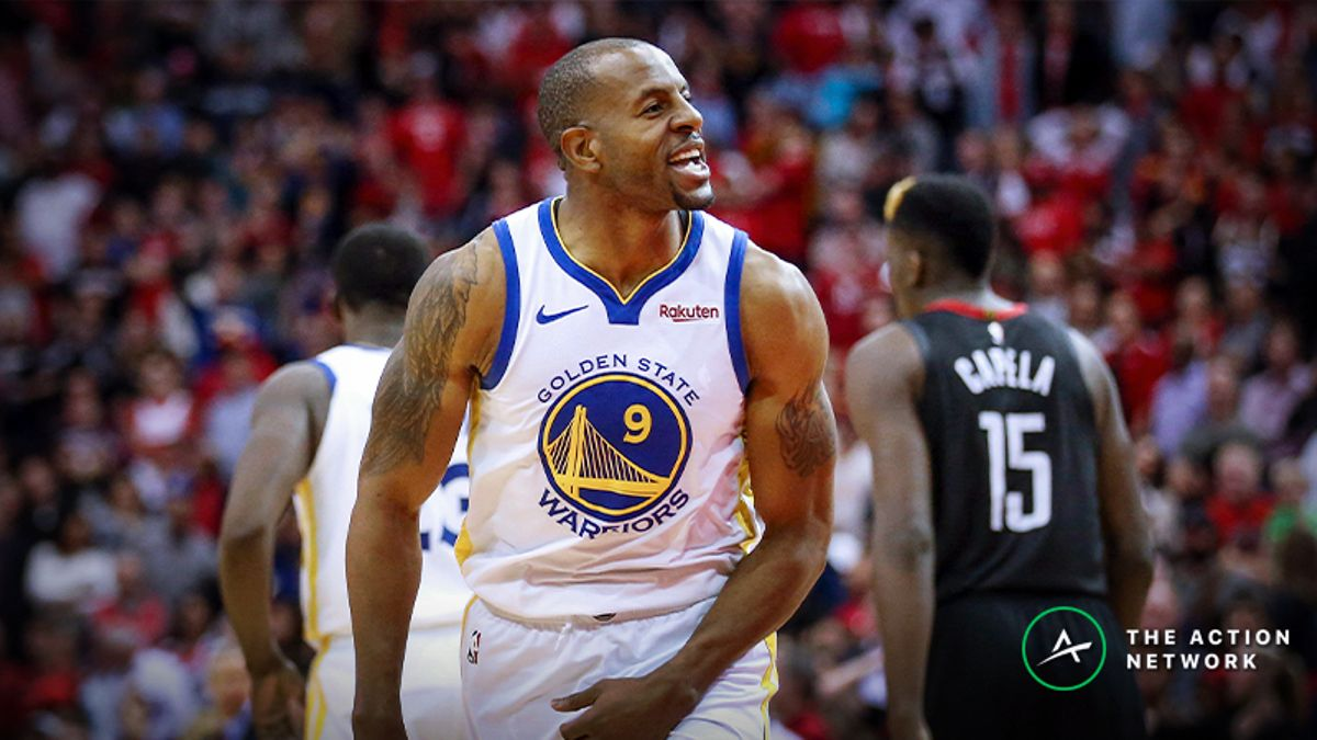 Raybon's Favorite NBA Prop for Tuesday: Will Andre Iguodala Dish 4 Dimes? article feature image