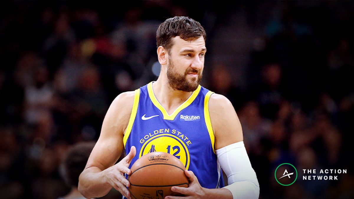 Raybon's Favorite NBA Prop for Friday: Will Andrew Bogut Score 8 Points? article feature image