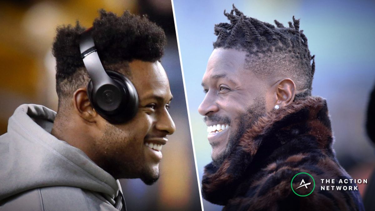 Antonio Brown vs. JuJu Smith-Schuster: Who Will Be More Productive in 2019? article feature image