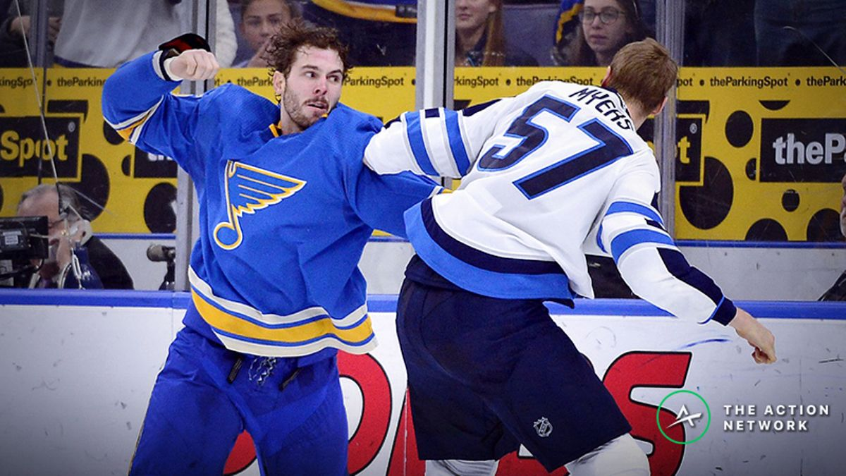 Blues vs. Jets Playoff Odds, Betting Preview: Is the Wrong Team Favored? article feature image