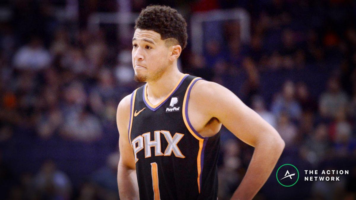 NBA Sharp Report: Bulls-Knicks, Cavs-Suns Drawing Monday's Smart Money article feature image