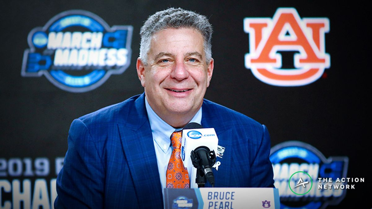 Final Four Vegas Betting Report: Books Rooting Against Auburn article feature image