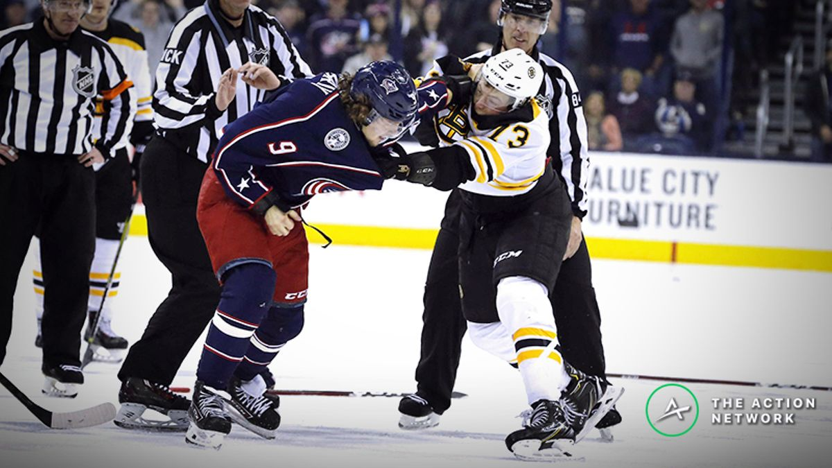 Bruins vs. Blue Jackets Game 1 Betting Odds, Preview: Can Columbus Keep Rolling? article feature image