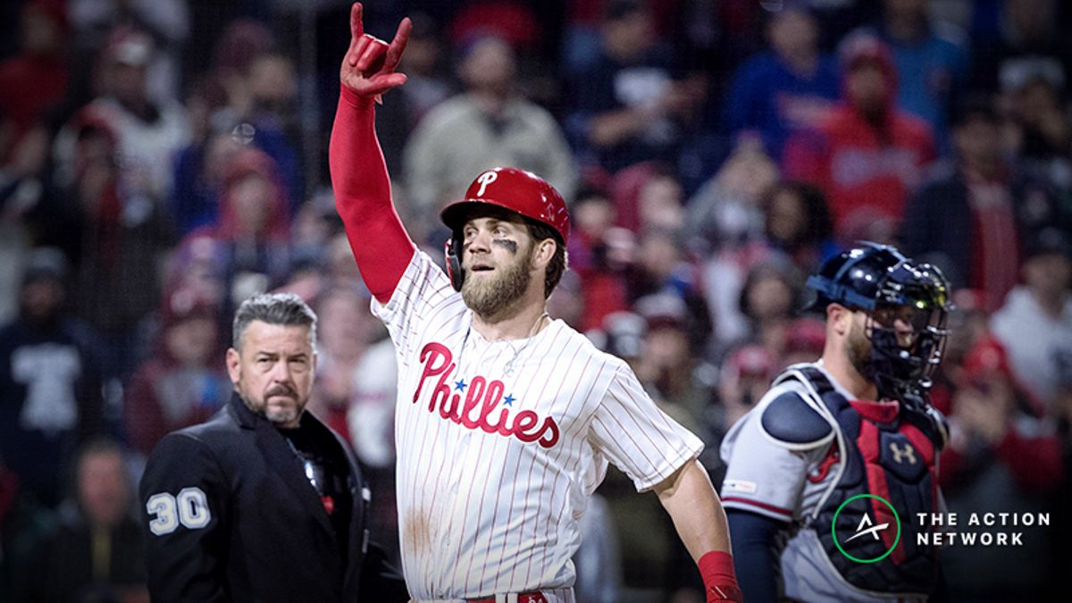 Lo Duca: Bryce Harper's Return to D.C. Provides Good Betting Opportunity article feature image