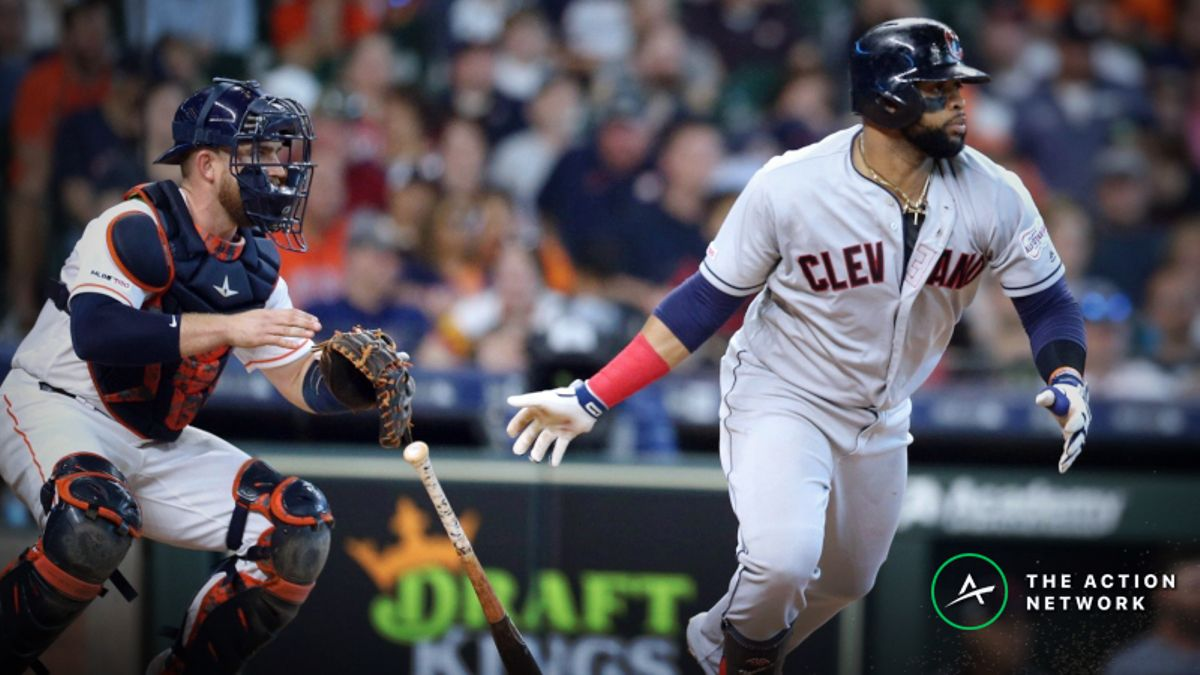 MLB Sharp Report: Pros Betting Indians-Astros, 2 Other Sunday Games article feature image