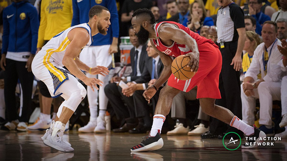 Warriors vs. Rockets Betting Odds, Trends: An Early Look at the Western Conference Semis article feature image