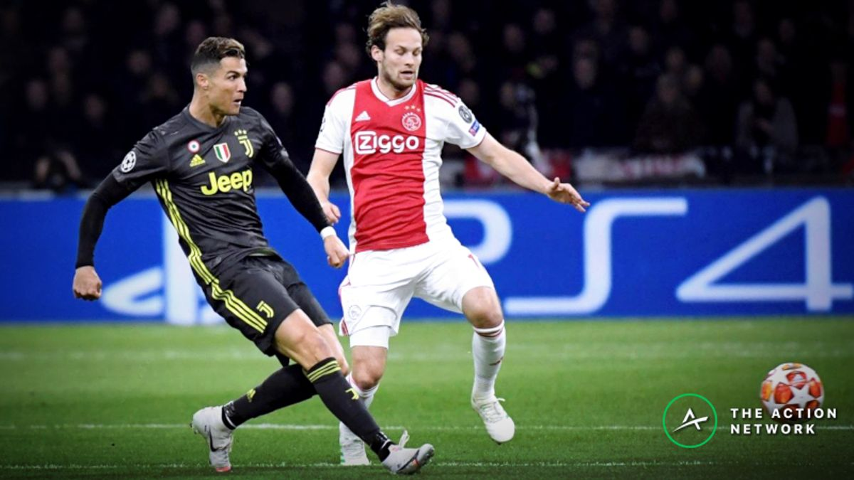 Sharp Money Backing Ajax Again in Champions League Quarterfinal Against Juventus article feature image