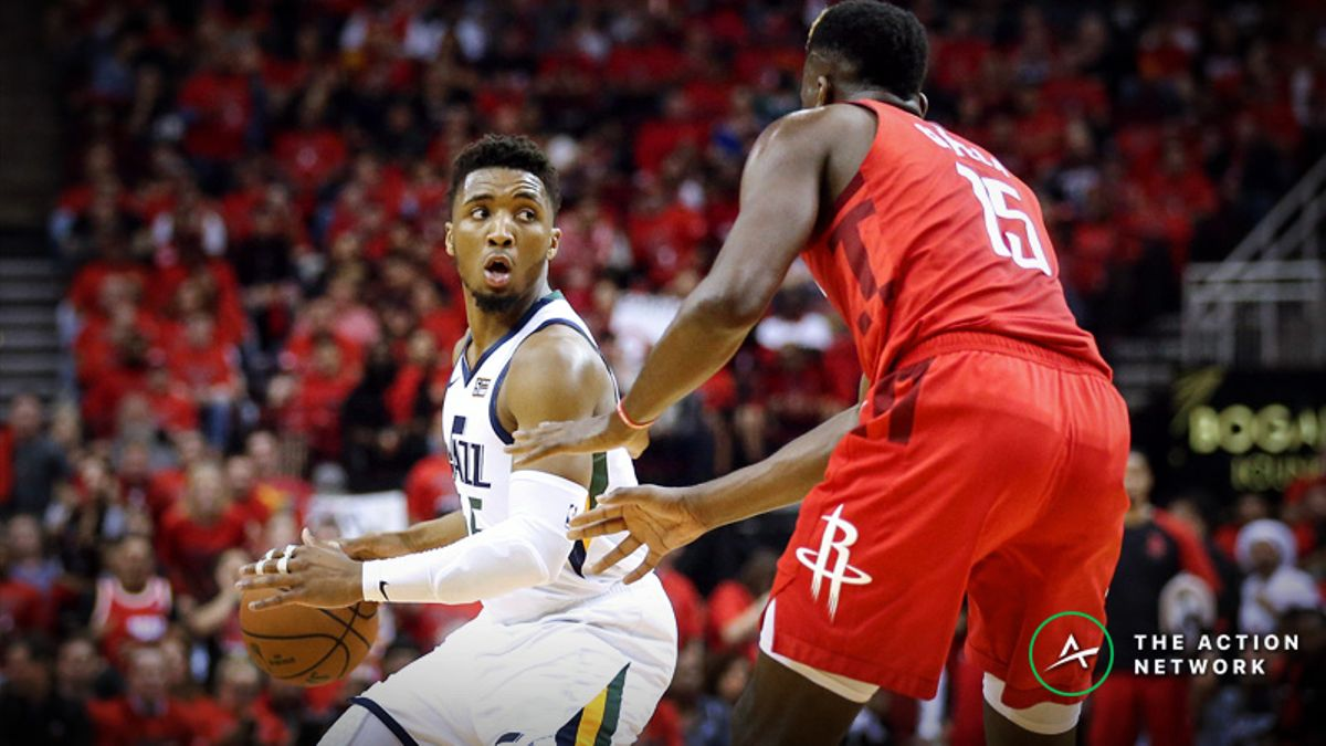 Rockets vs. Jazz Game 3 Betting Preview: Will This Series Turn in Utah? article feature image