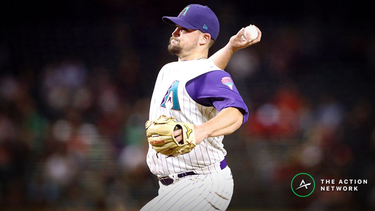 MLB Daily Betting Model, 4/17: Can Arizona Steal Another Game in Atlanta? article feature image
