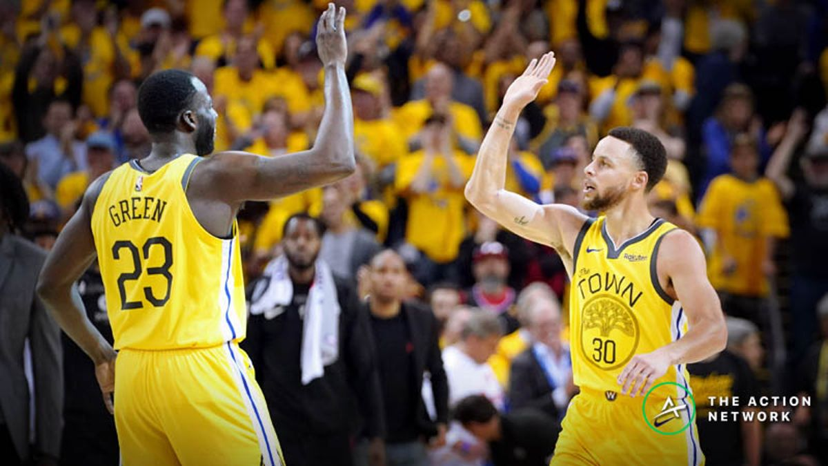 Warriors vs. Clippers Game 3 Betting Preview: Will Golden State Rally Without Cousins? article feature image