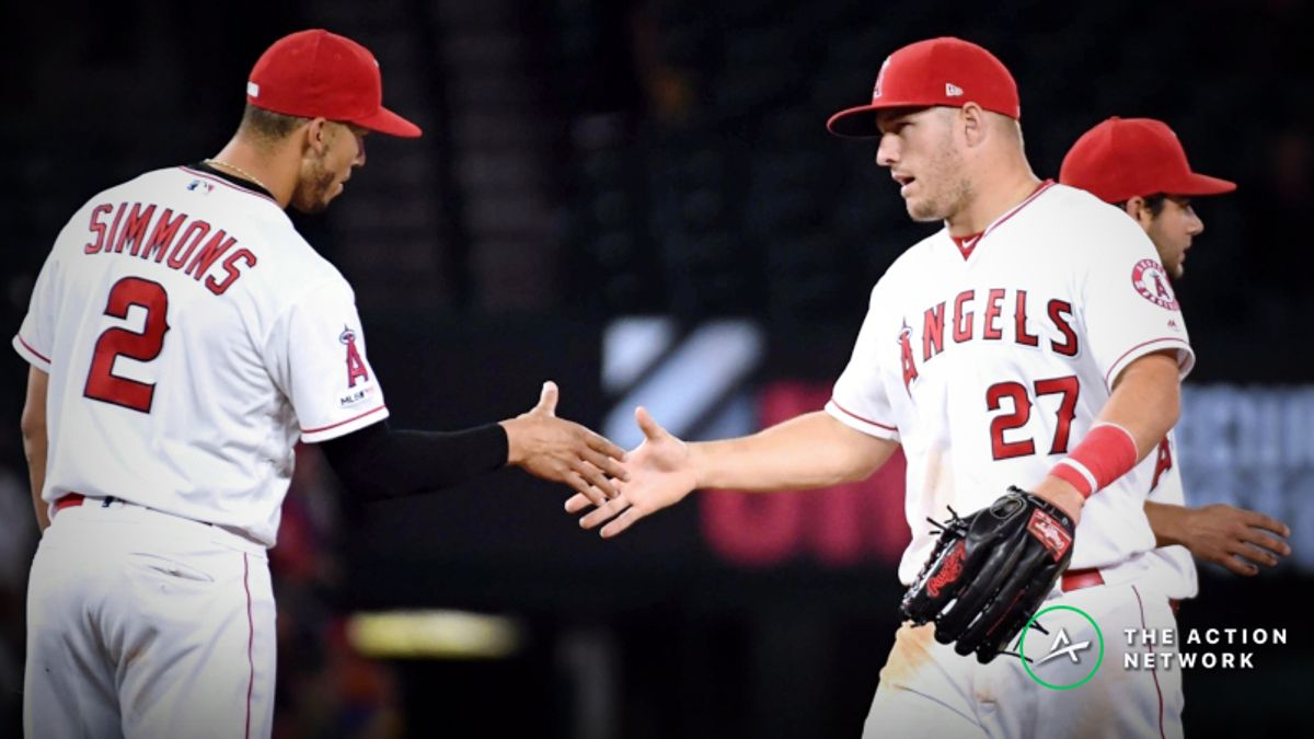 MLB Sharp Report: Pros Betting Mariners-Angels, 2 Other Thursday Games article feature image