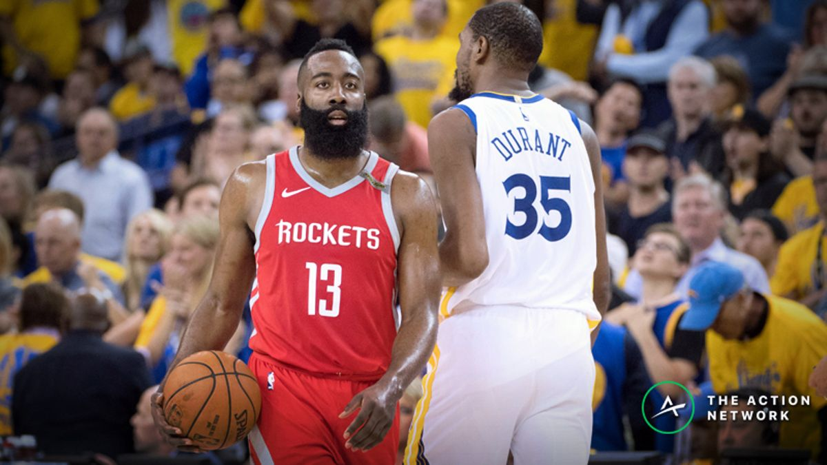 Warriors vs. Rockets Game 5 Betting Preview: Can Houston Win 3 Straight? article feature image