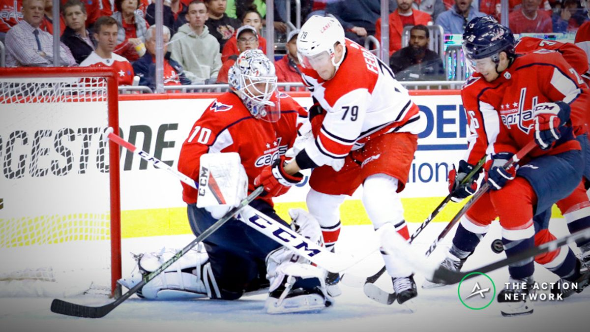 How Sharps Are Betting Capitals vs. Hurricanes Game 7 article feature image