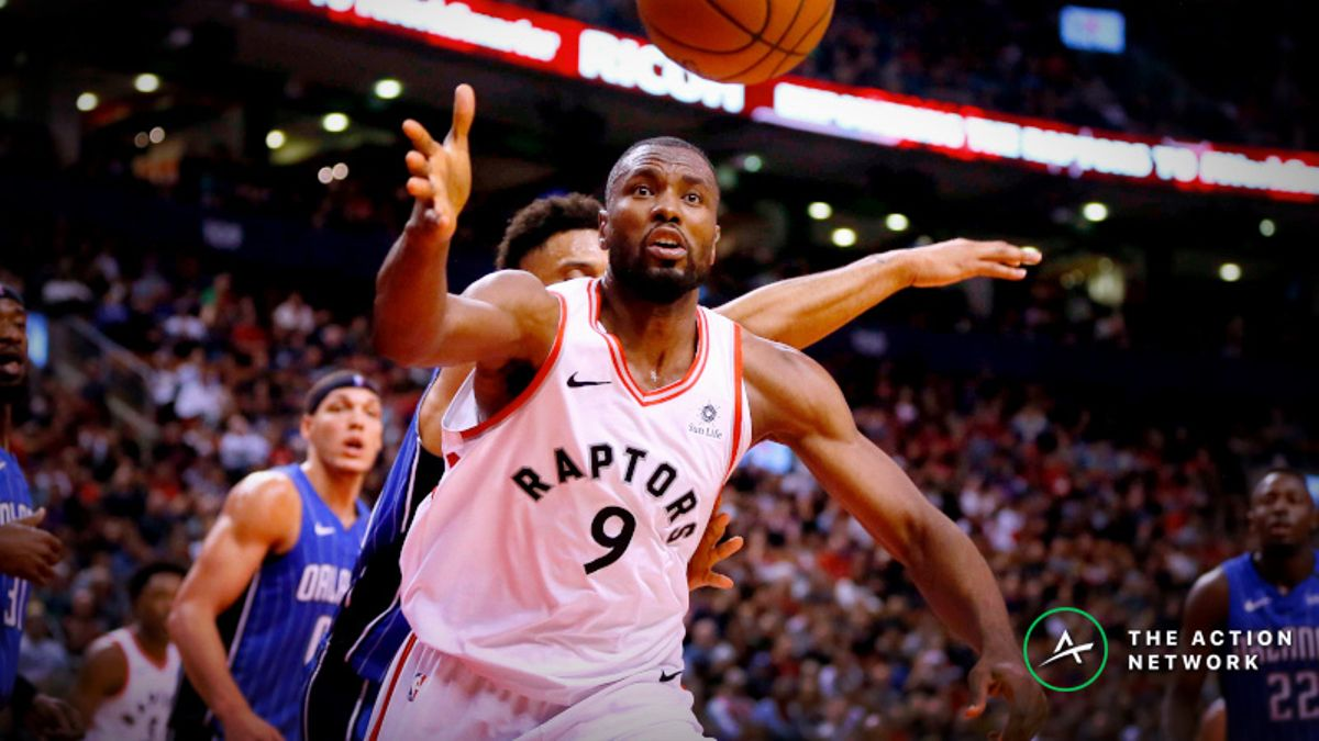 Sharp Bettors Doubling Down on Magic-Raptors Spread, Over/Under article feature image