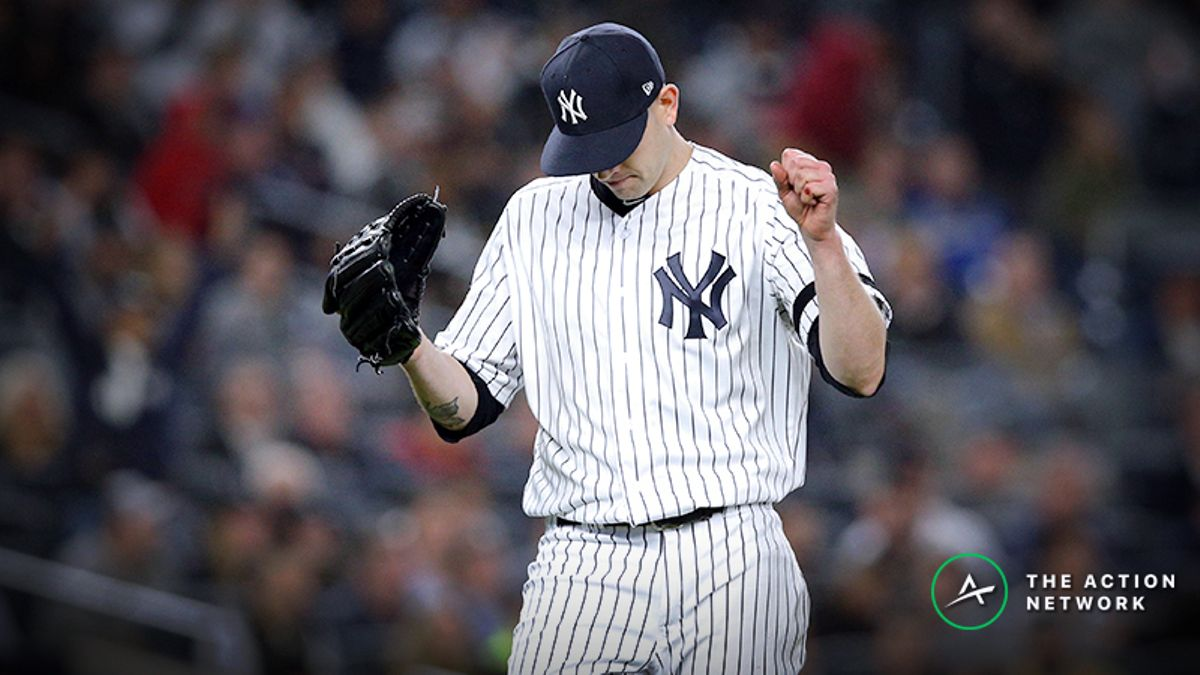 How Pros Are Betting Yankees vs. Giants Friday Night Matchup article feature image