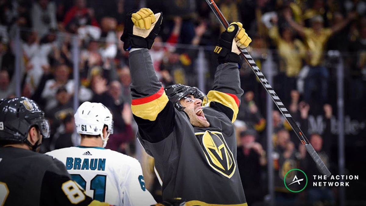 NHL Playoffs Betting Odds, Preview: Can the Golden Knights Close Out the Sharks? article feature image