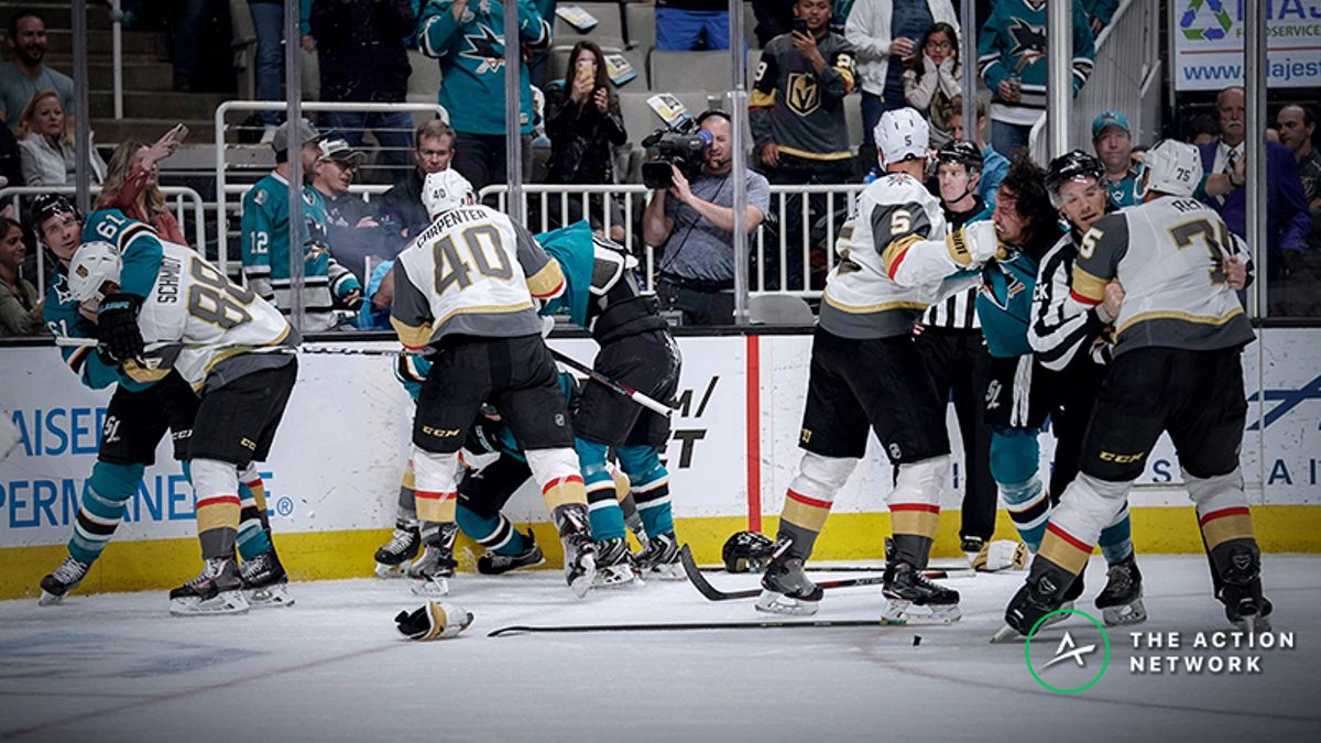 Golden Knights vs. Sharks Series Odds, Betting Preview: Is This Really A Coin Flip? article feature image