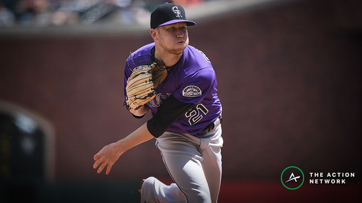 MLB Daily Betting Model, 4/18: Can Kyle Freeland Continue the Rockies' Winning Streak? article feature image