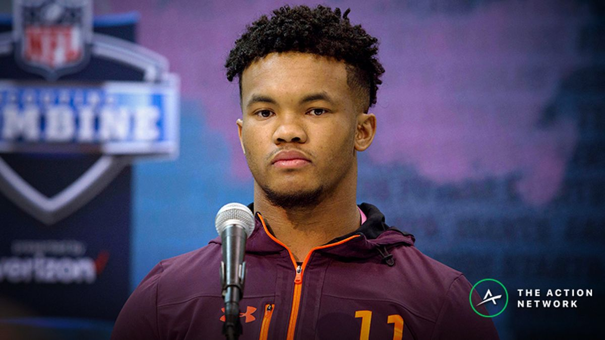 Kyler Murray NFL Draft Odds on the Move, Still Big Favorite to Be No. 1 Pick article feature image