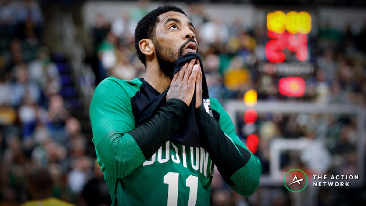Moore: What Kyrie Irving's Masterpiece Game 1 Means for Future Betting Value article feature image