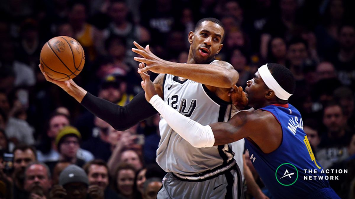 Raybon's Favorite NBA Props for Tuesday: Will LaMarcus Aldridge Drop 23 Points? article feature image