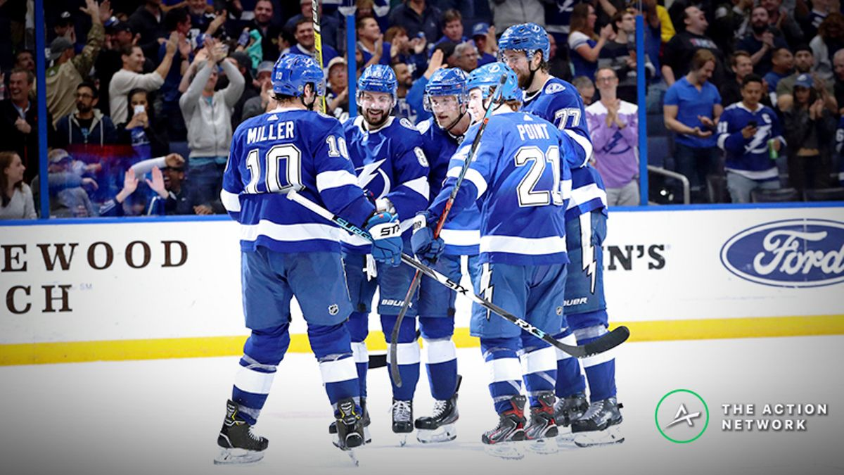Blue Jackets vs. Lightning Playoff Odds, Betting Preview: Pressure on Both Teams article feature image