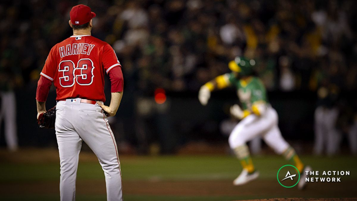 MLB Daily Betting Model, 4/4: Happy Harvey Day article feature image