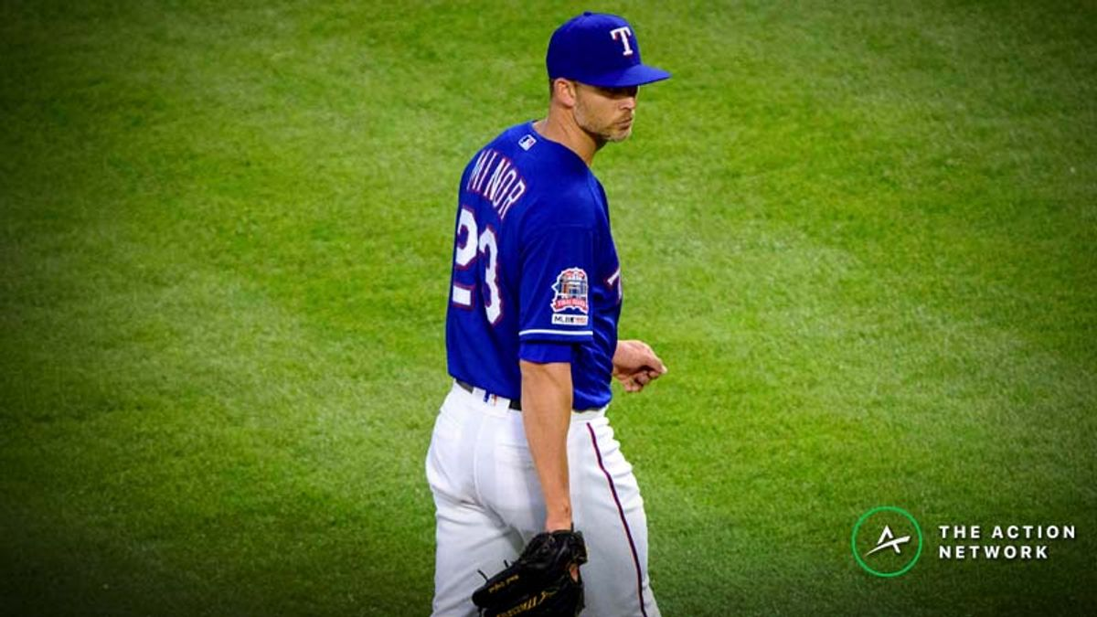 MLB Daily Betting Model, 4/27: Back Mike Minor on the Road in Seattle? article feature image