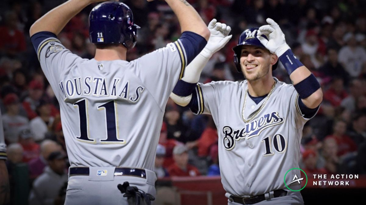 MLB Sharp Report: Wiseguys Betting Brewers-Padres, 2 Other Tuesday Games article feature image