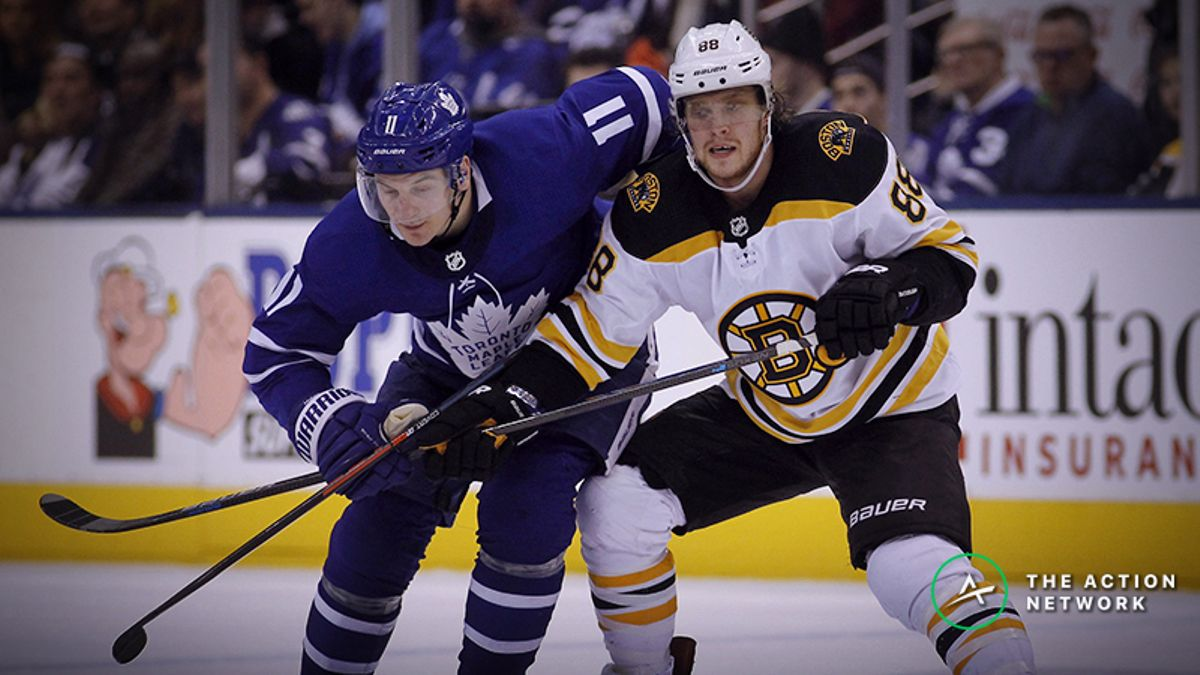 Maple Leafs vs. Bruins Playoff Odds, Betting Preview: A Clash of Styles article feature image