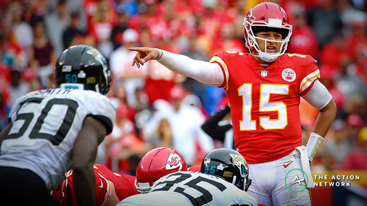 NFL Week 1 Betting Picks: Chiefs-Jaguars Line Offering Early Value article feature image