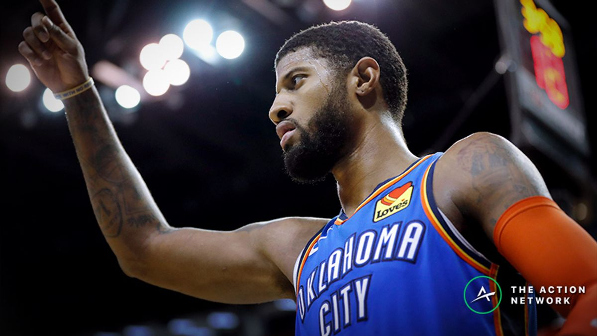 Raybon's Favorite NBA Props for Tuesday: Will Paul George Grab 8 Rebounds? article feature image