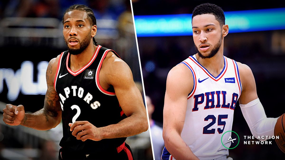NBA Playoffs Series Odds, Schedule: Raptors vs. 76ers article feature image
